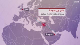 كيف تأثرت الرحلات الجوية القطرية بإغلاق المجال الجوي؟