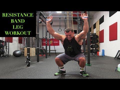 Intense 5 Minute Resistance Band Leg Workout