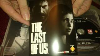 Nostalgamer Unboxes The Last Of Us On Sony Playstation 3 UK PAL System Version