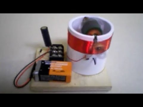 Toy dc motor homemade from extra parts easy to make for Simple toy motor project