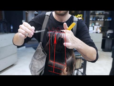 medium length layer haircut