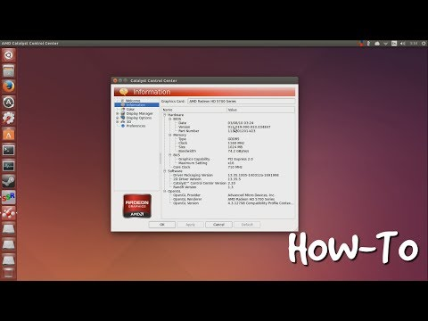 Installing AMD Catalyst on Ubuntu 14.04 (GUI Mode)
