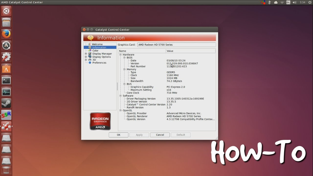 RADEON 9600 UBUNTU WINDOWS 10 DRIVERS