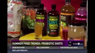 From Sorghum to Switchel: Summer Food Trends (6/18/16 on KARE 11)