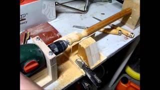 Kotitekoinen Puusorvi/homemade Diy Wood Lathe