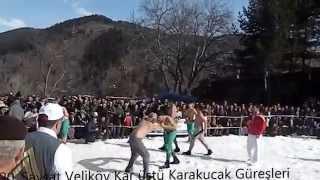 20. Şavşat Veliköy Kar üstü Karakucak Güreşleri