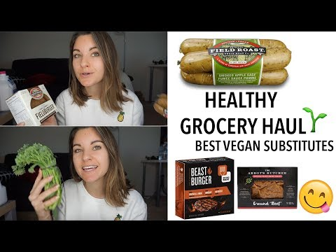 Healthy Grocery Haul | Best Vegan Meat Substitutes