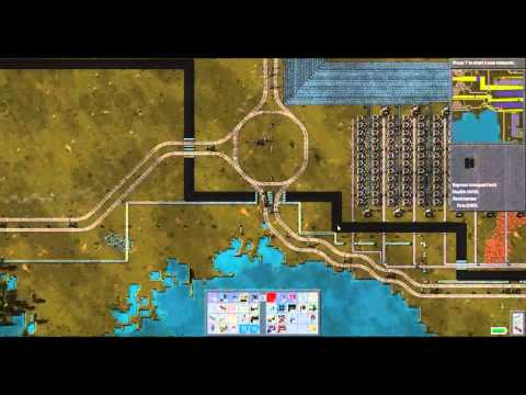 Factorio 1 rocket-per-minute-challenge base overview