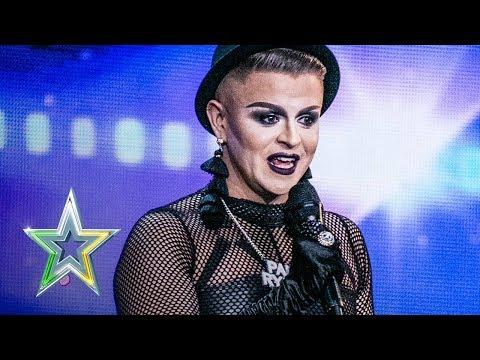Dublin drag queen Paul brings Uptown Funk to IGT   Auditions Week 6   Ireland's Got Talent 2018