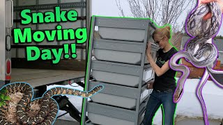 Moving our Snakes to the New Facility!