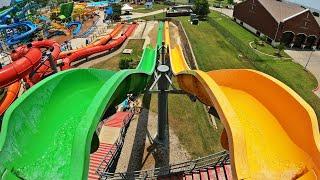 Pipeline Plunge Speed Slides at Hawaiian Falls Roanoke TX