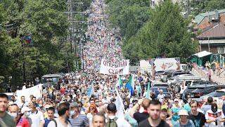 Хабаровск. Пробуждение. «Глубинный народ» не столько «за Фургала», сколько против беззакония властей
