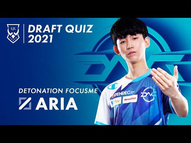 LJL × au】LJL Draft Quiz 2021 DFM Aria   FEED.GG