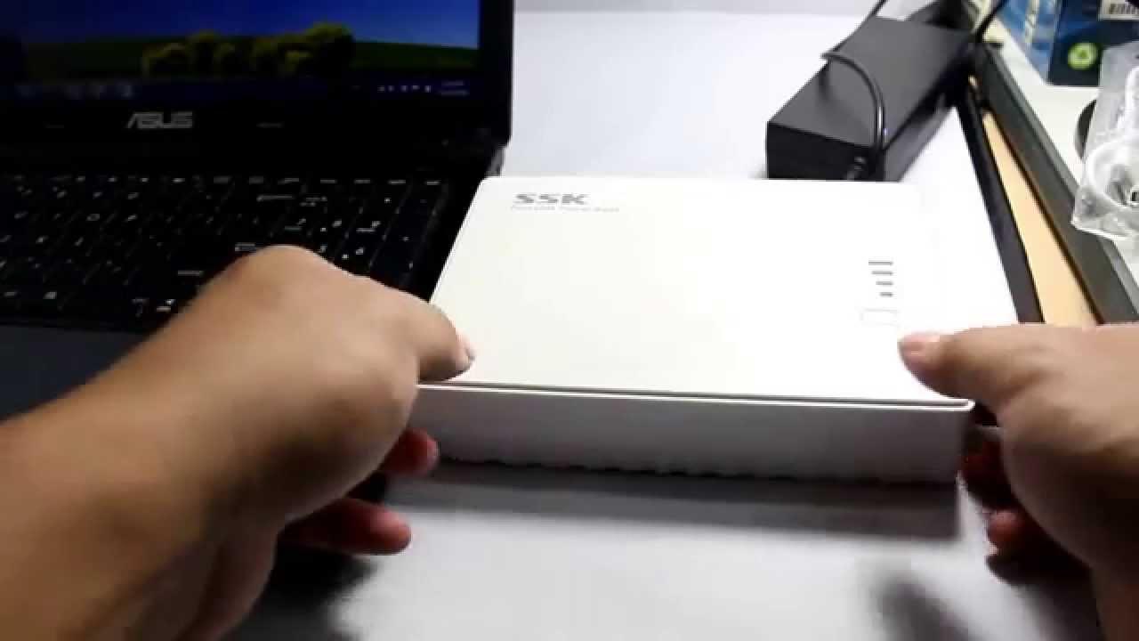 Souvent Batterie externe SSK 30000mAh ordinateur portable - YouTube CM28