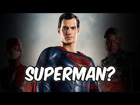 Thumbnail: JUSTICE LEAGUE PROMO WITH SUPERMAN!