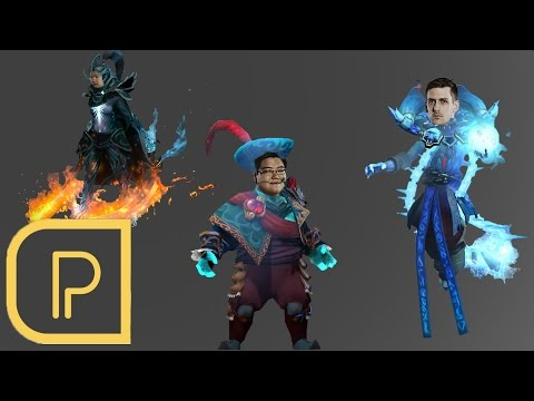 Purge Plays Lich /w Blitz & Charlie