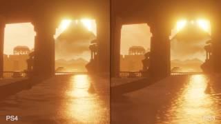 Journey PS4 vs PS3 Graphics Comparison