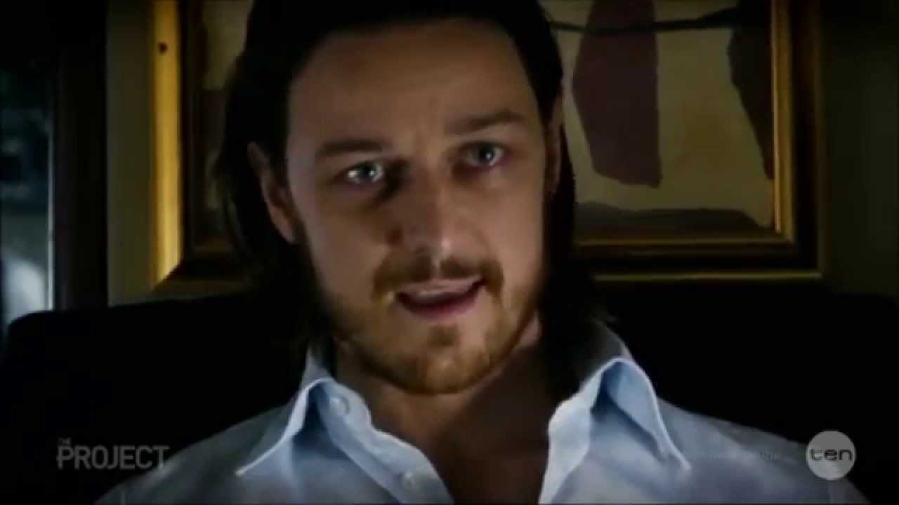 "James McAvoy ""Jen Lawrence can be trouble"" X-Men interview ...