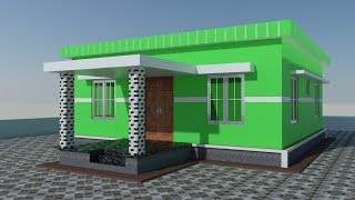 simple house designs 4 bedrooms
