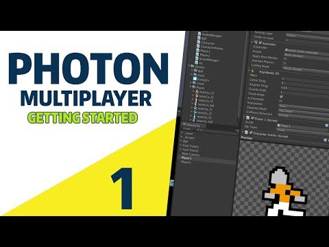 Unity 2018: 2D Multiplayer Photon Tutorial [EP 1] - Getting Started