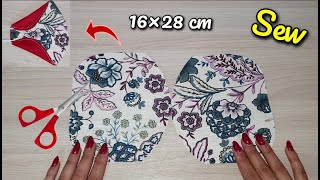 New Luxury Breathable Face Mask Sewing Tutorial New Style No Fog On Glasses 2 in 1 Face Mask