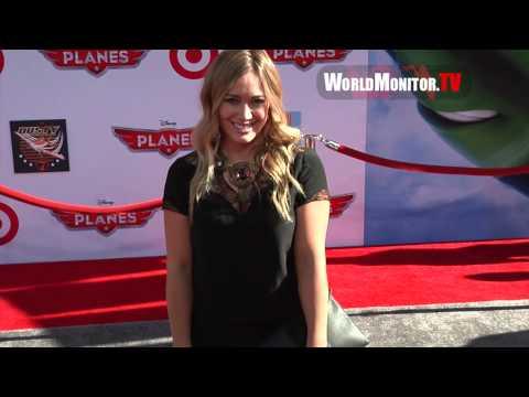 Hilary Duff So Gorgeous arrives at Disney's PLANES Los Angeles premiere thumbnail