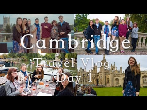 Cambridge Travel Vlog (Day 1)