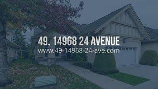 FOR SALE: #49, 14968 24 AV, SURREY, BC - MLS #R2005770