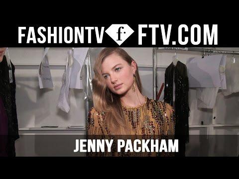 Jenny Packham Makeup at New York Fashion Week 16-17 | FashionTV