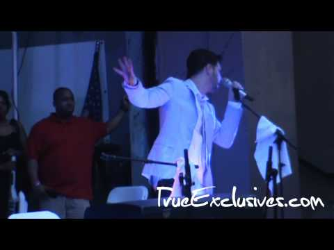 Jon B Tributes Tupac Shakur 40th Birthday in Brooklyn
