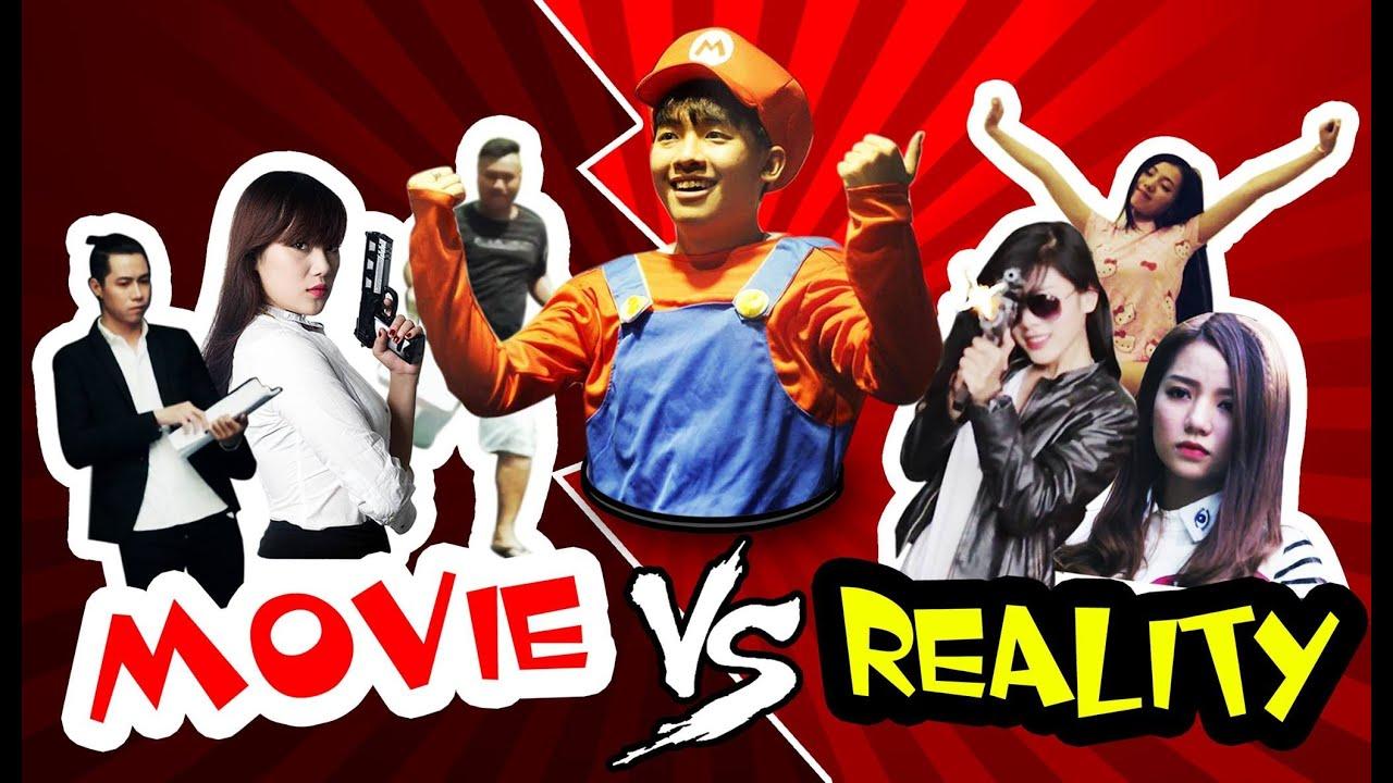 Phở 9: PHIM ẢNH vs THỰC TẾ (Movie vs Reality) [Clip Hài Hước]