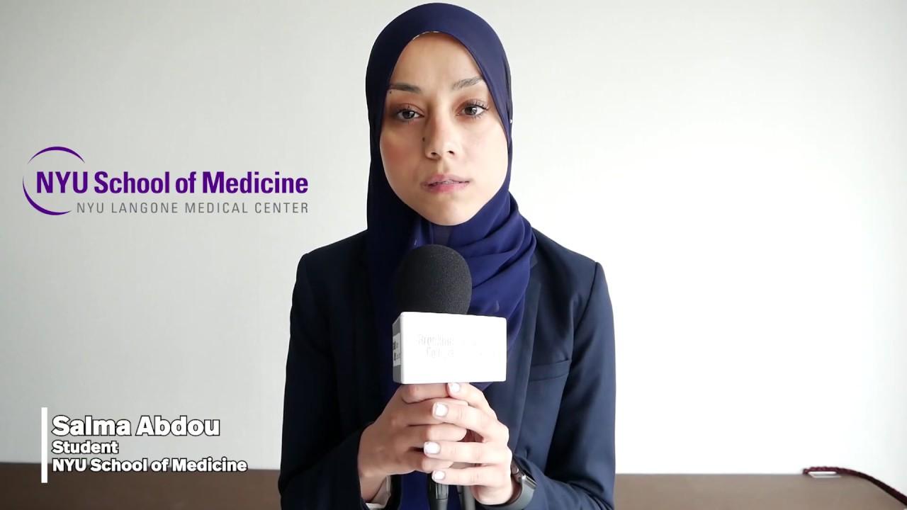 Career Advice Salma Abdou Nyu School Of Medicine Youtube