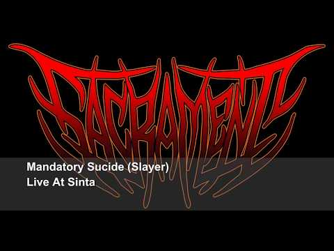 Mandatory Sucide [Slayer] Cover By Sacrament Live at Sintang rockVaganza Borneo Resurection
