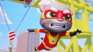 Talking Tom Hero Dash Super Tom Rescue Super Angela