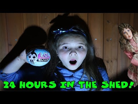 24 Hours In The Shed! Opening An Lol Doll At 3 Am Dollmaker Watching