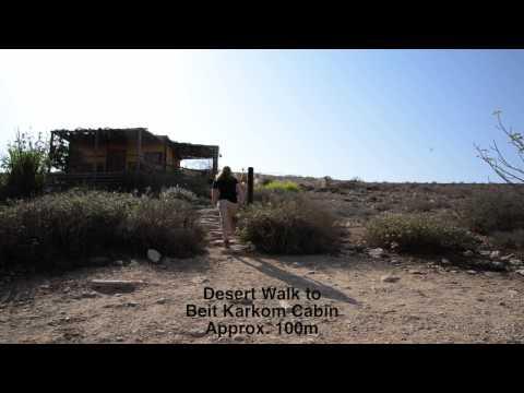 Beit Karkom Cabin At Desert Estate Carmey Avdat