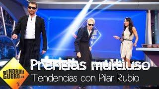 Pilar Rubio viste a Pablo Motos y Enrique San Francisco - El Hormiguero 3.0