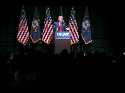 Trump gives speech on energy
