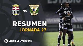 Resumen de FC Cartagena vs CD Leganés (1-0)