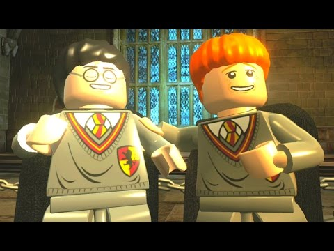 LEGO Harry Potter Years 1-4 Walkthrough Part 5 - Year 2 - 'Crabbe and Goyle'
