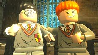 LEGO Harry Potter Years 1-4 Walkthrough Part 5 - Year 2 - 'Crabbe and Goyle'