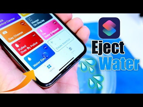 MUST DOWNLOAD SIRI SHORTCUT | Water Eject