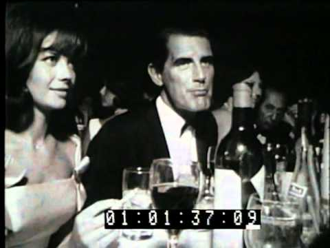 Hollywood Party Ambassador Hotel 1961 Footage from Producers Library Los Angeles CA