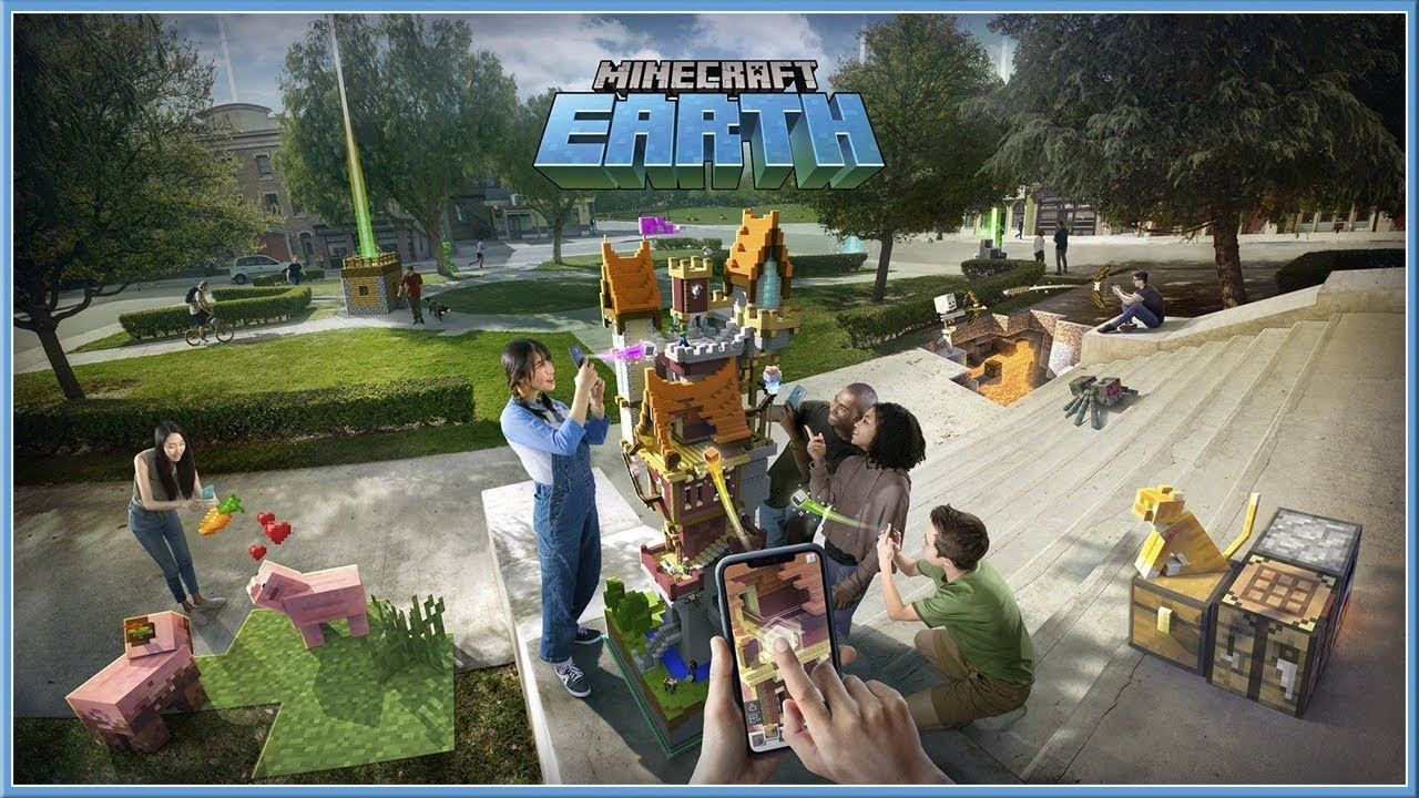MINECRAFT : Earth Official Reveal Trailer (2019) HD YouTube