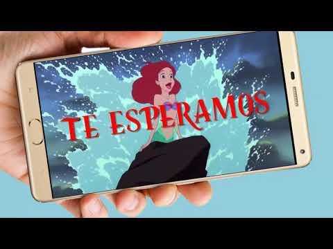 La Sirenita Vídeo Tarjeta De Invitación Digital Para Cumpleaños Y Whapsapp Aquisevendeccs