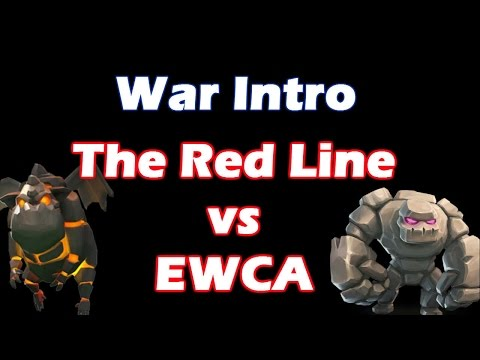 The Red Line Vs EWCA - Huge War Upcoming - Clash Of Clans