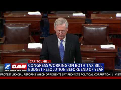 Congress Working on Both Tax Bill, Budget Resolution Before End of Year