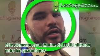 Luis Medina - Marine infiltrado