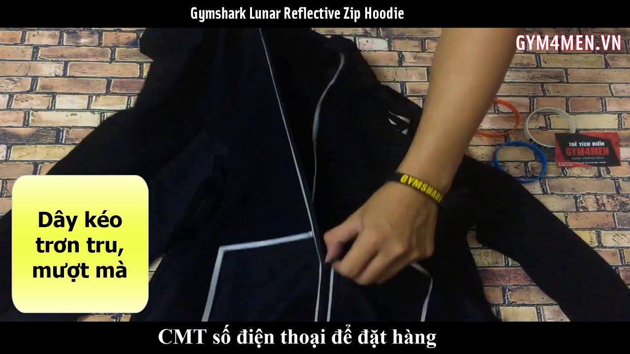 Áo khoác gymshark có nón – áo khoác thể thao nhập khẩu – Gym4men