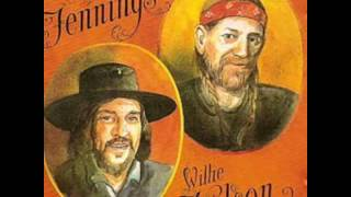 Waylon  Jennings  and Willie Nelson Luckenbach Texas song
